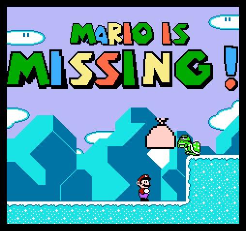 Mario captured
