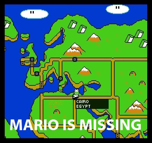 Mario is Missing logo