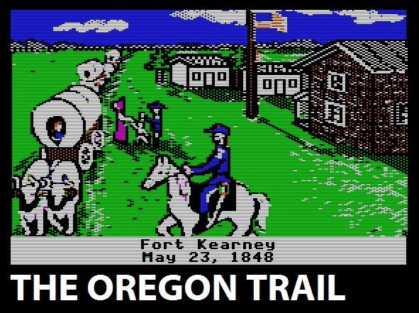 The Oregon Trail logo